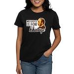 Vote Change Women's Dark T-Shirt
