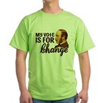 Vote Change T-Shirt (Green)