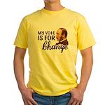 Vote Change T-Shirt (Yellow)