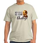Vote Change T-Shirt (Light)