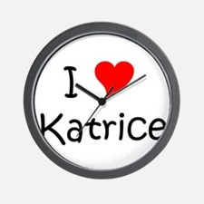 Funny Katrice Wall Clock