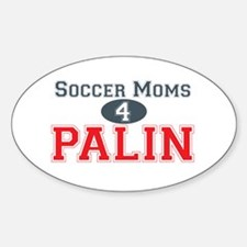 Palin Soccer 1 Oval Decal