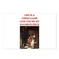 chess lover Postcards (Package of 8)
