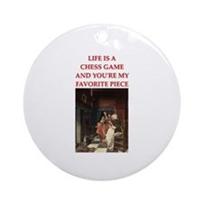 chess lover Ornament (Round)