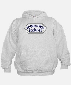 No Smoking or Spitting, France Hoodie