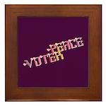 Peace Voter Tile (Framed)