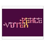 Peace Voter Poster (Small)