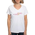 Peace Voter Women's V-Neck T-Shirt