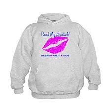 Read My Lipstick Palin Hoodie