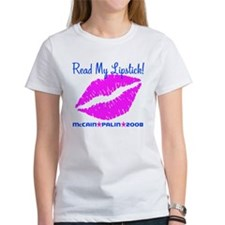 Read My Lipstick Palin Tee