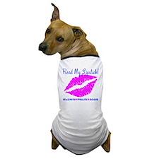 Read My Lipstick Palin Dog T-Shirt