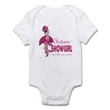 Future Showgirl Like Auntie Baby Infant Bodysuit