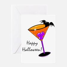 Halloween Cocktail Greeting Card