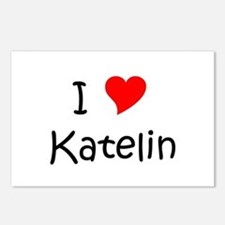 Unique Katelin Postcards (Package of 8)