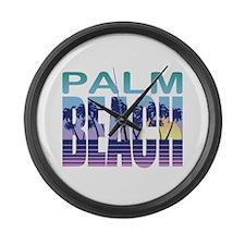Palm Beach Large Wall Clock