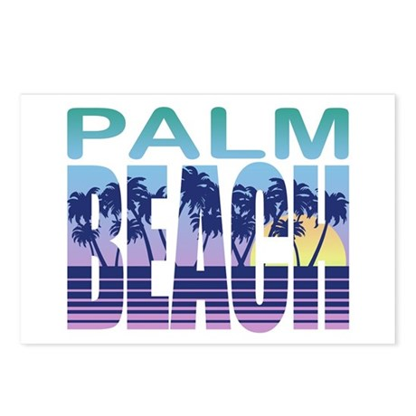 Palm Beach Postcards (Package of 8)