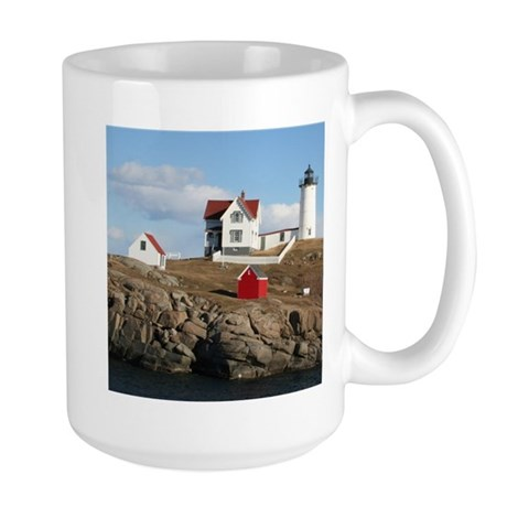 Nubble light Large Mug