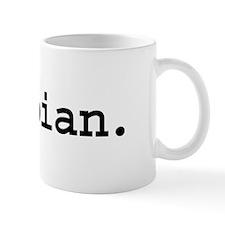 lesbian. Mug
