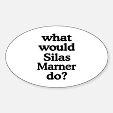 Silas Marner Oval Decal