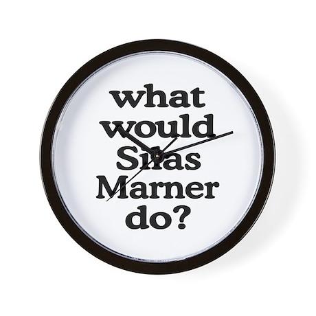 Silas Marner Wall Clock