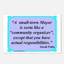 """Small Town Mayor"" Postcards (Package of 8)"