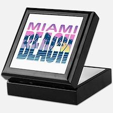 Miami Beach Keepsake Box