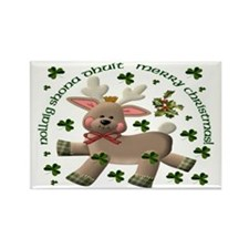 Christmas Reindeer (Irish/Eng) Magnets (10 pack)