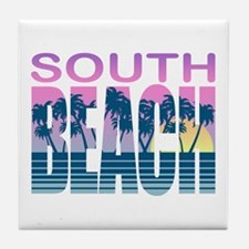 South Beach Tile Coaster