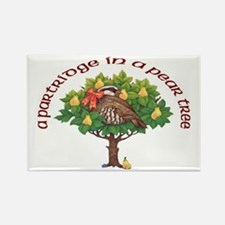 A Partridge in a Pear Tree Magnets (10 pack)