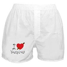 I Love Vampires Boxer Shorts