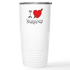 I Love Vampires Travel Mug