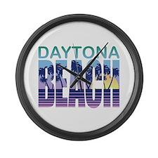Daytona Beach Large Wall Clock