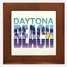 Daytona Beach Framed Tile