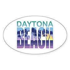 Daytona Beach Oval Decal