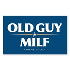Old Guy/Milf 08 Rectangle Decal
