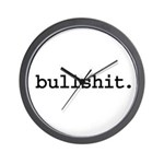 bullshit. Wall Clock