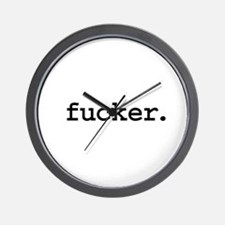 fucker. Wall Clock