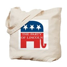 GOP: Party of Lincoln Tote Bag