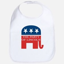 GOP: Party of Lincoln Bib