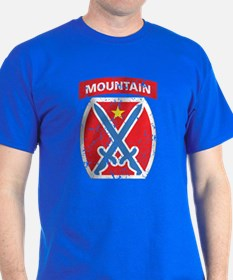 10th Mountain - Distressed T-Shirt