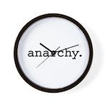 anarchy. Wall Clock