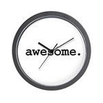awesome. Wall Clock