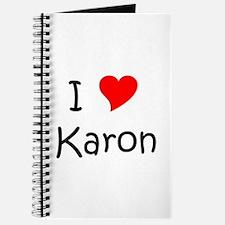 Funny Karon Journal