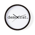 democrat. Wall Clock