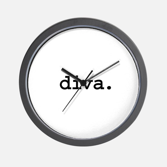 diva. Wall Clock