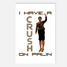 Crush on Palin - 2 Postcards (Package of 8)