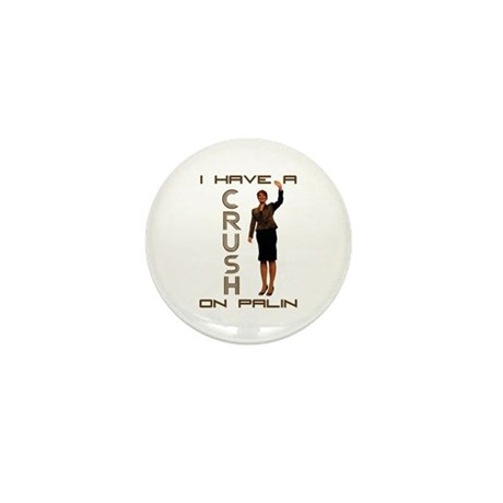 Crush on Palin - 2 Mini Button (10 pack)