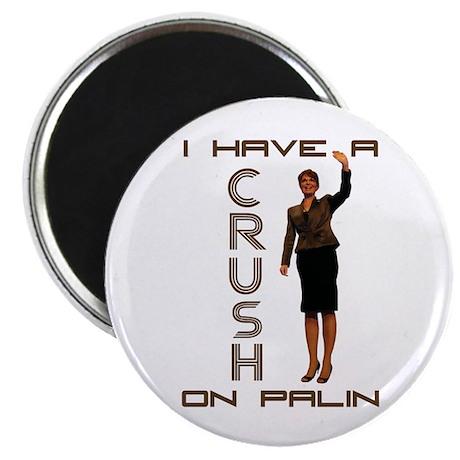 "Crush on Palin - 2 2.25"" Magnet (100 pack)"