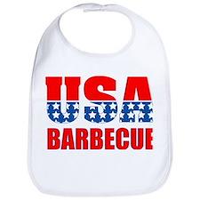 USA Barbecue Bib
