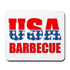 USA Barbecue Mousepad